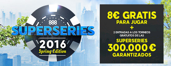 888poker ES Superseries2016 550x213